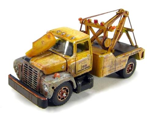 "Showcase Miniatures N 89 1960s ""I"" Class Distressed Wrecker Kit"