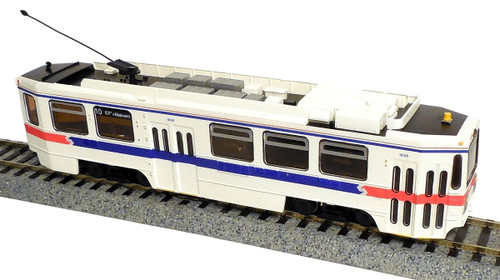 Imperial Hobby Productions HO 8703P Kawasaki Single-End LRV Powered Trolley, SEPTA (Phase 2) #9038 (2-Rail DC)