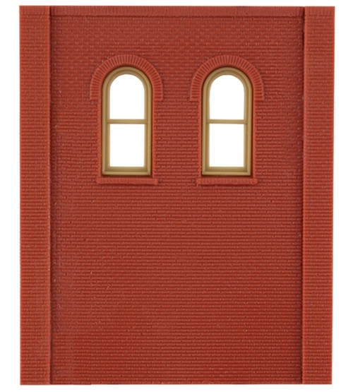 Design Preservation Models HO 30109 Two Story Arched Two High Window Modular System