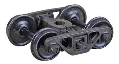"""Kadee HO #582 Barber-Bettendorf Roller Bearing Caboose Self Centering Trucks with 33"""" Smooth Back Wheels"""