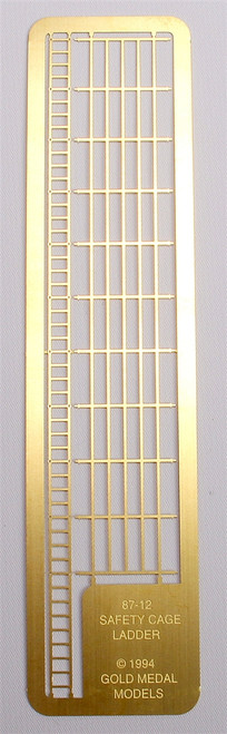 Gold Medal Models HO 87-12 Industrial Safety Cage Ladders (50 Scale Feet)