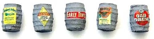 JL Innovative Design HO 708 Wood Whiskey Barrel, Gray (5)