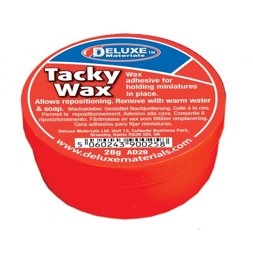 Deluxe Materials AD29 Tacky Wax (28g)