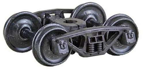 Kadee HO #564 50-Ton Bettendorf Self-Centering Trucks with 33 Smooth Back Wheels
