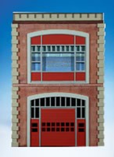 Ameri-Towne O 64 Fire Station Building Front