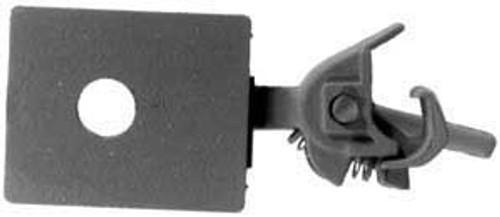 "Kadee HO #24 Short (1/4"") Underset Shank with Draft Gear Boxes (2 Pair)"