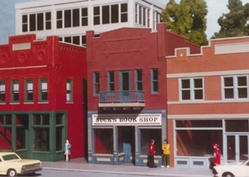 Smalltown USA HO 699-6024 Buck's Book Shop