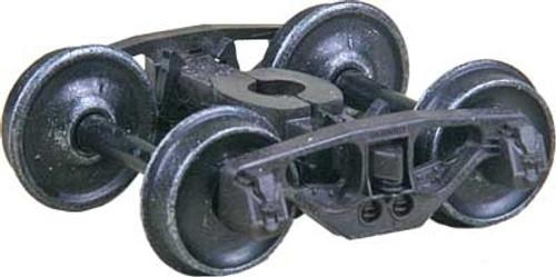 "Kadee HO #1568 National Type B-1 50-Ton Friction Bearing Trucks with 33"" Smooth Back Wheels"