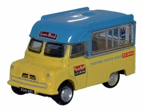 Oxford Diecast N NCA003 Bedford CA Ice Cream Truck, Lyons Maid Ice Cream