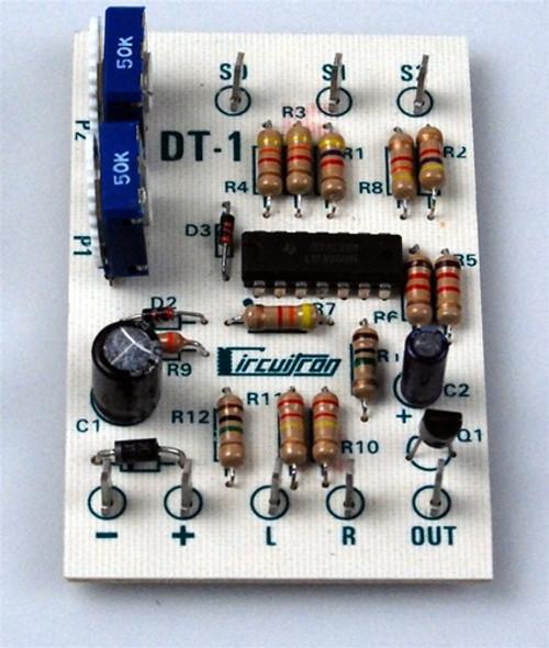 Circuitron 800-5201 DT-1 Bi-Directional Grade Crossing Detector
