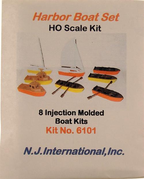 N.J. International HO 6101 Harbor Boat Set (8)