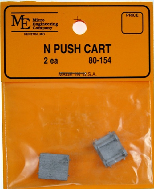 Micro Engineering N 80-154 Push Cart (2)