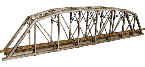 Central Valley Model Works HO 1901 200' Single Track Parker Truss Bridge Kit