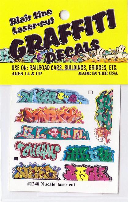 Blair Line N 1248 Graffiti Decals Mega Set #5