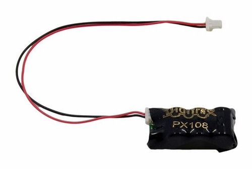 Digitrax PX108-2 Power Xtender (For use with Digitrax Decoders Equipped with 2 Pin PX socket or solder pad connections)