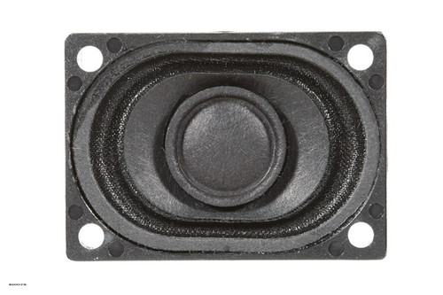 """SoundTraxx 810078 40mm x 28.5mm x 11.3mm (1.5748"""" x 1.122047"""" x 0.4448819"""") Oval Speaker"""
