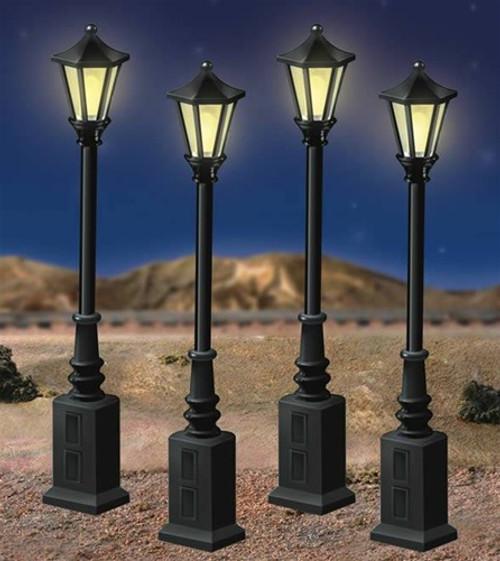 Lionel O 6-24156 Lionelville Street 4 Lamp Set