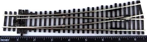 Peco HO SLE96 Code 100 Electrofrog Medium Radius Left Hand Turnout