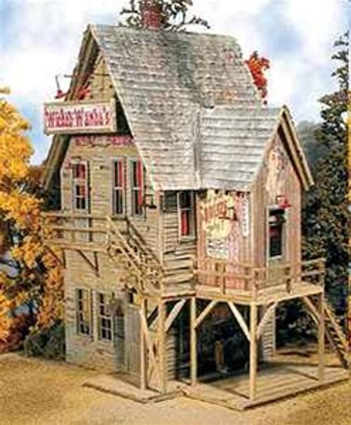 "Bar Mills Scale Model Works N 0961 Wicked Wanda's ""The Friendliest House In Town"" Kit"