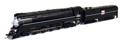 Bachmann HO 50206 GS4 4-8-4 Steam Locomotive, Western Pacific #485 (DCC On Board)