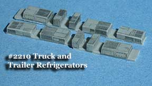 Fine N Scale 2210 Truck and Trailer Refrigerator (10)