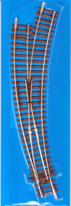 Peco HO ST244 Code 100 Right Hand Curved Turnout Track