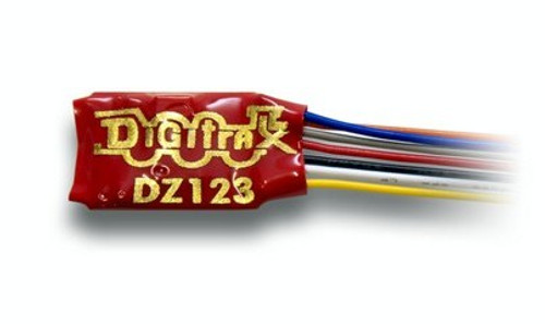 Digitrax N/Z DZ123 2-Function Mobile Decoder