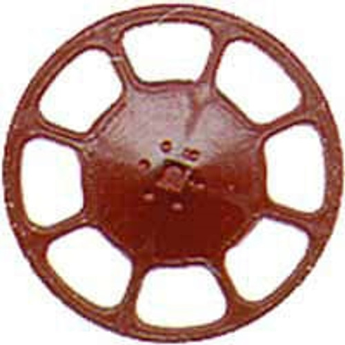 Kadee HO 2035 Modern Brake Wheels, Red Oxide (8)