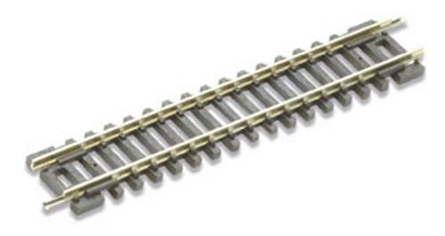 "Peco N ST-1 Code 80 3-7/16"" Standard Straight Track, Wooden Sleeper Type (1 Piece)"