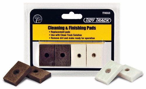 Woodland Scenics TT4553 Cleaning and Finishing Pads