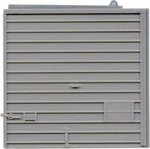 Kadee HO 2264 10' Superior 150 Door Low Tackboard, Gray (2 Pair)