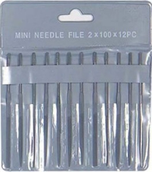 Excel 55608 2mm x 100mm Needle File Set (12)