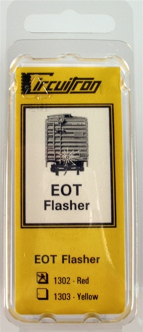 Circuitron 800-1302 EOT-R End Of Train Red Flasher