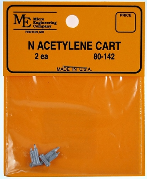 Micro Engineering N 80-142 Acetylene Cart (2)