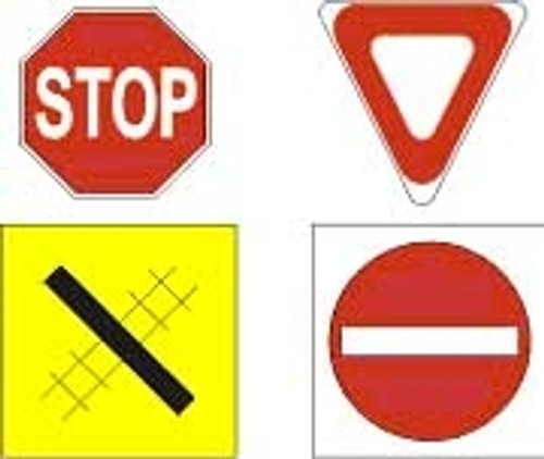 Osborn Model Kits HO 1011 Road Signs Kit