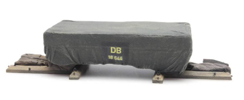 Artitec HO 487.801.58 Shipping Crate Under Tarp Cargo Load