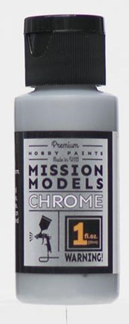 Mission Models MMC-001 Hobby Paint, Chrome (1 oz.)