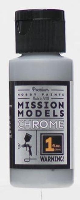 Mission Models MMC-001 Hobby Paint, Chrome (1 oz.)