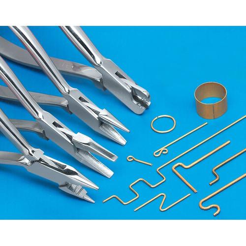 Micro-Mark 60398 Metal Forming Pliers (4-Pack)