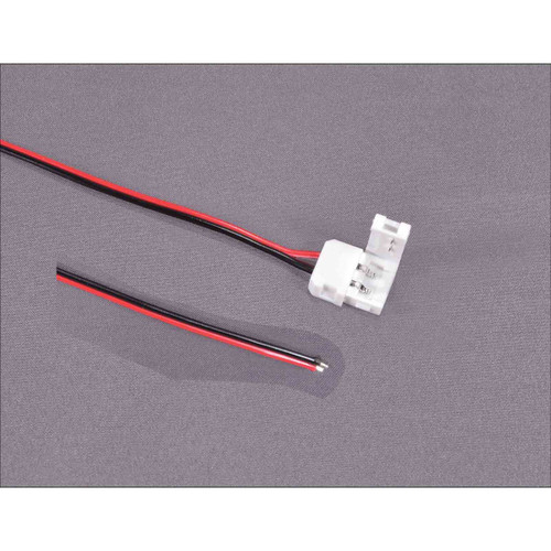 Micro-Mark 85498 LED Strip Connector With 5 Inch Long Flying Leads (d)