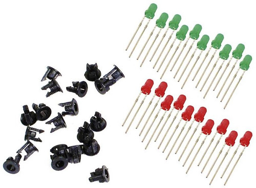 Peco PL30 LEDs and Panel Clips