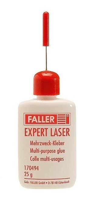 Faller 170494 Expert Laser Glue, Multi-Purpose, 7/8oz 25g