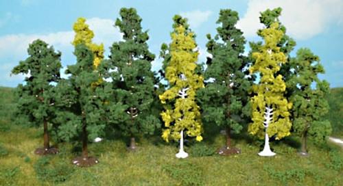 "Heki Trees and Shrubs 1430 Hardwood Assortment 2-3/4"" to 4-3/4"" (12)"