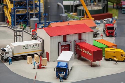 Faller HO 130166 Small Warehouse Kit