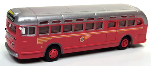 Classic Metal Works HO 32312 GMC Pacific Electric Railroad Transit Bus (Santa Monica Destination Board)