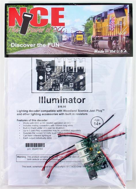 NCE 524164 Illuminator Lighting Decoder