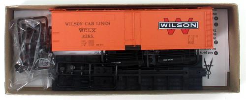 Accurail HO 8323 40' Steel Refrigerator Car Kit, Wilson Car Lines #2365