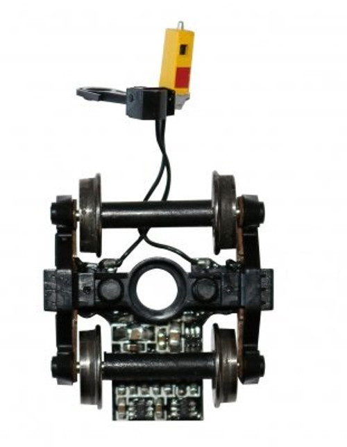 """Bachmann HO 42907 End Of Train Device, 33"""" Truck Mounted, Track-Powered Flashing LED"""