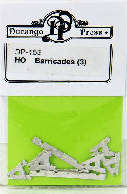 Durango Press HO 153 Barricades (3)
