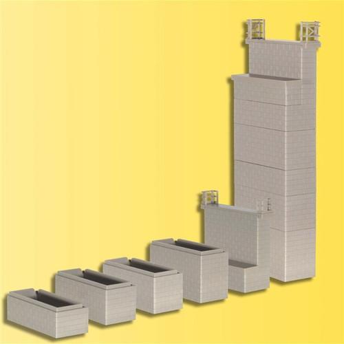Kibri HO 39750 Brick Pillar Kit